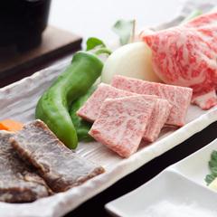 【MEAT 三成 三献の肉!】三成めし認定★ボリューム満点!認証近江牛☆<三種のお肉食べ比べ会席>