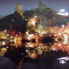 彦根城でお城散歩と紅葉観賞★お食事は【スタンダード華の膳】自慢の『認証近江牛』をお部屋食でゆったりと