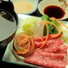 【松-Matsu】しゃぶしゃぶは《国産和牛》で贅沢に〜源泉掛け流しを満喫〜【現金特価】