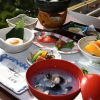 【美肌県しまねの地酒・県産米プレゼント】朝食付きプラン