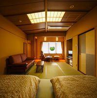 NEW!■東館ベッド付和室■バストイレ付【禁煙】