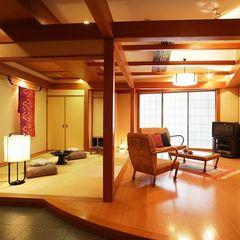 ■和洋室■なごみスイート(和室とツインベッド)80平米禁煙