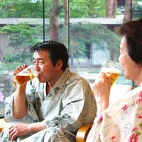 新館【おふたりプラン】〜湯上りビール&色浴衣&お部屋食の特典付き〜