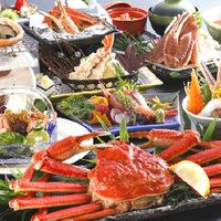 """【さき楽28】★蟹会席〜グレードアップ〜★とにかく蟹!蟹!蟹料理づくしの10品""""贅沢なひとときを"""""""