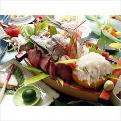 舟盛り付☆海鮮和膳 船出【funade】1泊2食付スタンダードプラン
