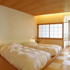 西の館・温泉展望風呂付トリプル(36平米)最上階!夜景一望