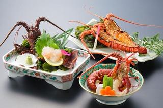 オンライン決済専用【和食のおもてなし】調理方法が選べるあわび・伊勢海老会席プラン