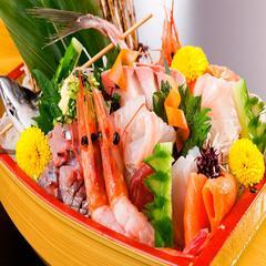 日本海の幸を堪能する〜「船盛」付き会席料理プラン