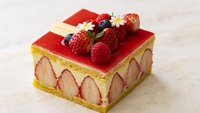 【おこもり女子会プラン】春の訪れを祝うホテルメイドのホールケーキ付き(朝食付き)