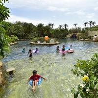 みんなで楽しめる露天風呂ジャングルプールで遊ぼう!滞在中1回利用券付 スイートルームで優雅に過ごそう