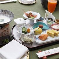 エグゼクティブフロア☆専用ダイニング華扇☆和食懐石膳と和食洋食選べる朝食