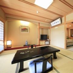 ヒノキ展望風呂付特別貴賓室(10畳+ツインベッド+茶室)