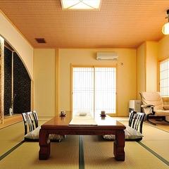 二間客室【苔桃】和室12畳+洋室6畳シングルベッド2台