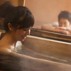 ◆【カップル限定】4大特典付で2人の満足度UP♪貸切風呂&岩盤浴&色浴衣&個室食【竹会席/夕朝食付】