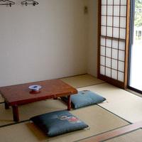 【氷見の民宿「竹や」の和室】