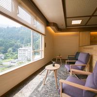 ≪特別室利用≫眺望抜群!黒部川を眼下に◎富山の旬てんこもり越中会席と美肌の湯