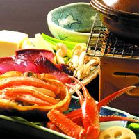 ≪グレードアップ会席≫富山の冬を召し上がれ♪地魚厳選盛り合せ・富山の鰤しゃぶ・富山の紅ずわい蟹を堪能