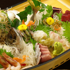 ≪ご当地グルメ≫選べるきっときと地魚 天然の生け簀「富山湾直送」鮮魚舟盛付プラン【旬魚食通】