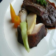 お肉&お魚のディナーコースプラン