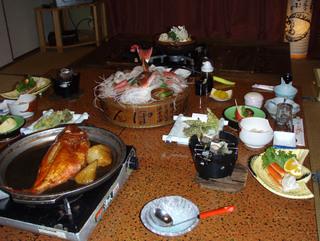 【当館人気】おひとり15,000円以下・金目鯛煮魚コース!