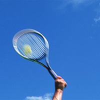 ≪BBQ&テニス≫2hご利用無料!【海の見えるテニスコート】でプレー♪ ご夕食は当館名物BBQ♪