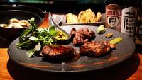 ■プレートディナー「山」。岩手県産ブランド肉を堪能。別館ジョバンニ夕食付プラン。(夕食・朝食付き)