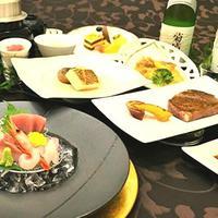 豪華!特選和牛と海鮮の鉄板焼きディナープラン☆オーシャンビューツイン確約☆(2食付)