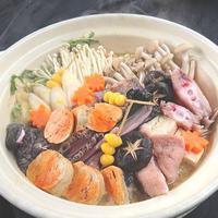 【北関東魅力プラン】☆茨城の冬グルメ☆美味あんこう鍋&旬魚のお造り&あん肝茶碗蒸しを堪能プラン♪