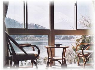 部屋から富士と湖望二食付き富士急ハイランド近富士登山に最適