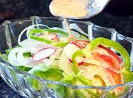 シャキシャキの野菜サラダ