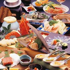 【ポイント5倍☆人気】松阪牛・伊勢海老・鮑など三重の美味を堪能。会席 《貸切露天風呂&色浴衣無料》