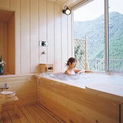 展望風呂付和室 お部屋で檜風呂を楽しもう♪ ホテルANNEX