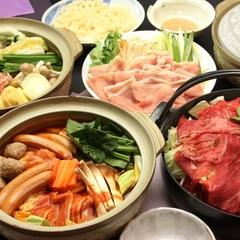 【一泊二食付】日替わり鍋に満足!!冬スタンダード♪【11月01日〜】【お先でスノ。】