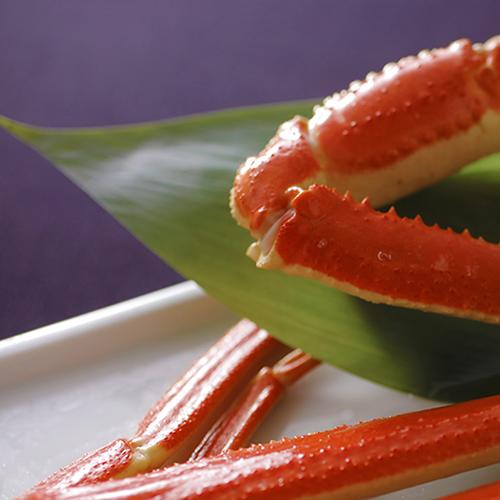 """""""ドーン!""""っと大盤振舞!カニ好きには堪らない≪茹で大蟹≫を含むフルコース♪♪007"""