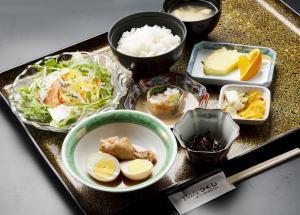 お得!2食付プラン!!朝食は無料・夕食は1080円の定食付き!!
