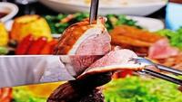 【冬春旅セール】お肉祭りでスタミナアップ!シュラスコディナー付1泊2食プラン【駐車場無料】