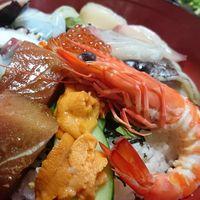 夕食は軽めがウレシイという方へ・・・海鮮丼プラン/伊良湖近海でとれた新鮮な旬の魚介類を丼で!