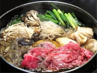 ■特選近江牛をすきやきで.:*.:やっぱりこれ!