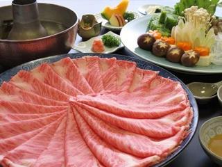 ■特選近江牛をしゃぶしゃぶで.:*.:とろける味わいを