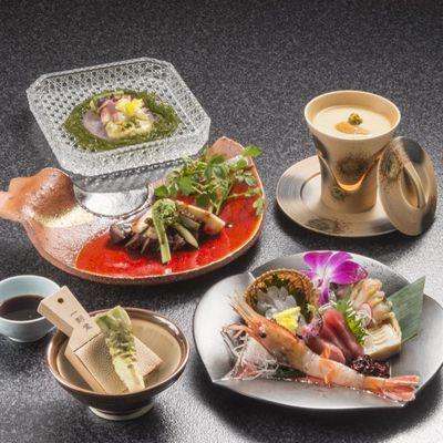 【美味少量】越後の贅沢な食材で口福を!オリジナル花会席〜貸切風呂1回サービス付き♪〜