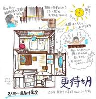 源泉かけ流しの露天風呂付客室『更待ち月』