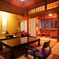 ◆標準客室◆(本間8〜10畳+踏込2〜3畳+広縁)