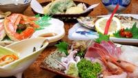 海の幸☆カニ・サザエ・アワビ…大満足の海鮮プラン♪