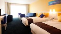 ◆客室最上階フロア・海側・禁煙◆地中海ツインルーム◆35平米