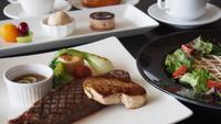 【冬春旅セール】【淡路牛!フランス料理】淡路牛ステーキや島食材を取り入れたコース料理&温泉を満喫