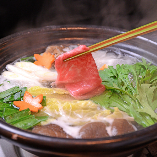 【 特選・豊後の旨鍋 】すき焼き・しゃぶしゃぶ・水炊き・すっぽん4種からセレクト 旨鍋プラン