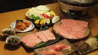 【地産地消】  奈良県産黒毛和牛の焼肉コース