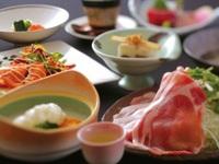 【お料理満足コース】天然温泉とお料理満喫プラン