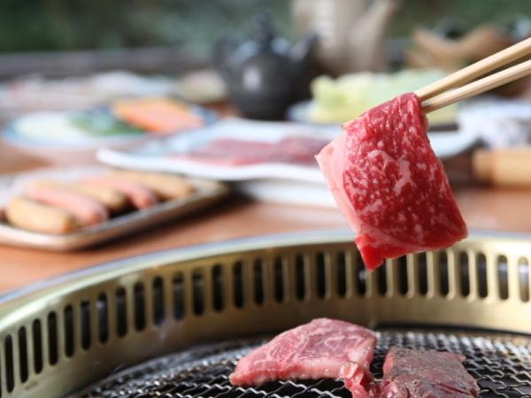 ◆焼肉食べ放題プラン★しいばの湯併設セルフ式レストラン山法師にて