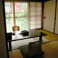◇ゆったり離れ和室4.5畳の2間続きバストイレ付【禁煙部屋】